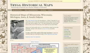 Trygg Historical Maps