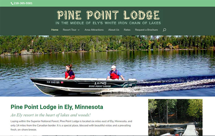 Pine Point Lodge, Ely, MN